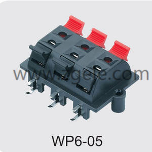 High quality PUSH TERMIANAL supplier,WP6-05