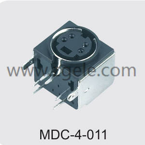 custom-made component video socket brands,MDC-4-011