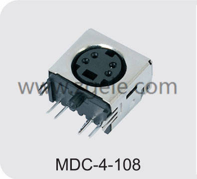 wholesale 13 pin mini din connector factory,MDC-4-108