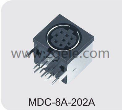 Customized tv cable connector agency,MDC-8A-202A