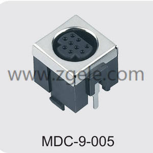 custom-made audio connector types agency,MDC-9-005