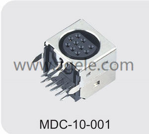 Low price 10 pin din connector power supply exportes