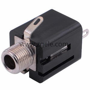 Low price 6.35mm Audio phone jack supplier