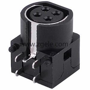 Low price mini din power connector factory