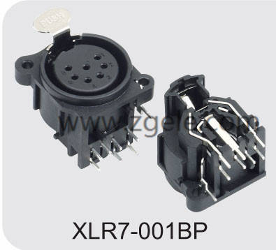 wholesale Audio Connector For Stage exportes,XLR7-001BP
