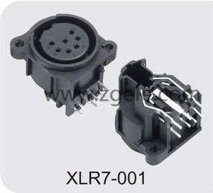 custom-made Male Female XLR Connector with 3  4  5  6 or 7 Pins discount