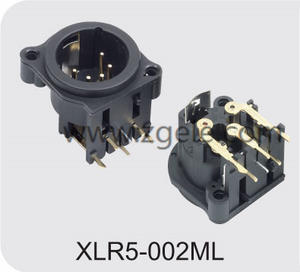 Low price 5p xlr microphone jack supplier