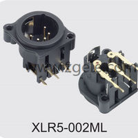Low price 5p xlr microphone jack supplier,XLR5-002ML