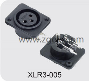 Low price Microphone XLR 3pin Canon Connector factory