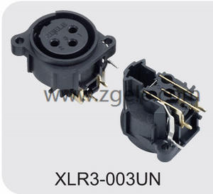 Low price XLR Male Cannon Connector for Loudspeaker supplier