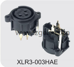Low price Black Housing Female XLR cable factory