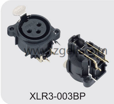Low price Audio Jack Cable Xlr Combo Connector factory,XLR3-003BP