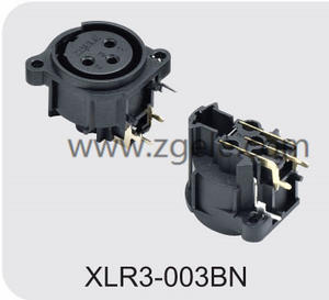 Low price Male Female XLR Connector with 3  4  5  6 or 7 Pins supplier