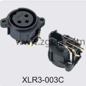 Low price 3 Pin Female XLR Connector discount,XLR3-003C