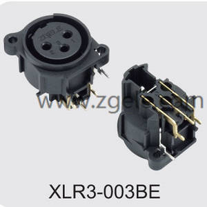 Low price XLR male and female connector exportes,XLR3-003BE