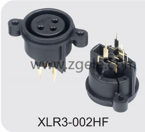 wholesale Microphone XLR 3pin Canon Connector manufactures
