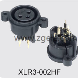 wholesale Microphone XLR 3pin Canon Connector manufactures,XLR3-002HF