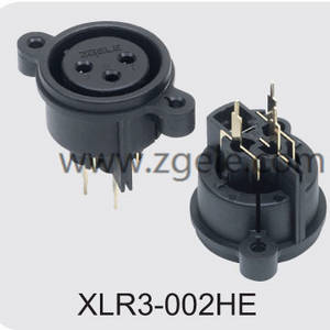 Low price CT CONNCETOR brands,XLR3-002HE