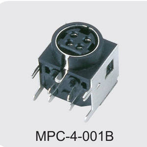 china 4 pin din power connector manufactures,MPC-4-001B