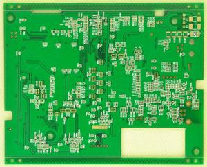 manufacturer 4L 2oz Green immersion gold IC substrate board pcb factory