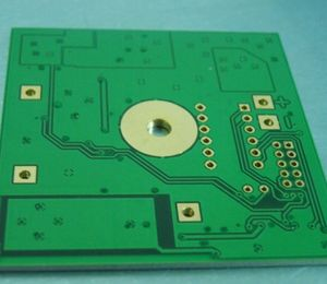 double-side Thickness2.0mm 1oz Thermal conductivity 2.0 Aluminum PCB board