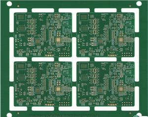 customized 4L buried blind VIA pcb immersion-gold PWB  wholesaler