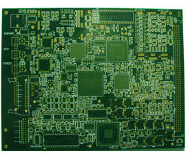 8L 4-4mil 2oz enterrado cego VIA pcb