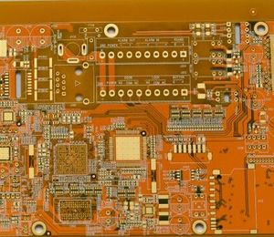 4L FR4 thickness 0.75mm 5-4mil yellow immersion gold board