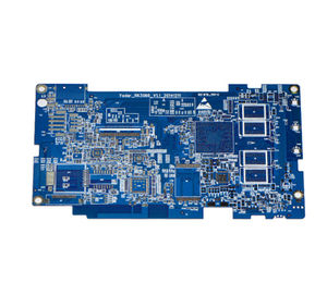 4L blue FR4 immersion silver PCB