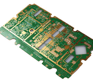 8L thickness1.5mm HDI rogers-FR4 hybrid immersion gold circuitboard