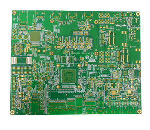 4L 2step High frequency immersion gold board
