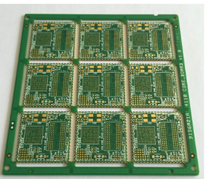 8L 1step HDI placcato PCB half hole
