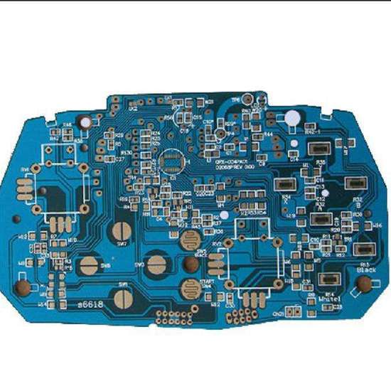 10L blue buried hole black coreFR4 circuit board