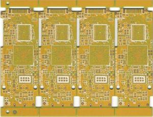 Pcb Order Online 6L yellow High TG Consumer electronics supply