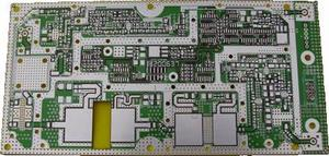 PCB sample rogers5880 min-hole 0.25mm HASL board expert