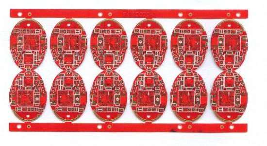rogers6002 6L red 5-5mil RF circuit board
