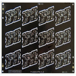 fabrication 4L 0.5oz rogers black immersion gold board pcb manufacturer