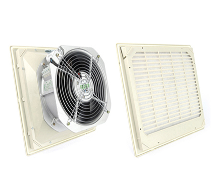 FK5526 Ventilator Fan Filter Aksial