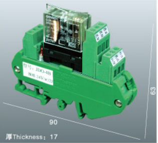 Thượng Hải LEIPOLE 24VDC Relay Coupler