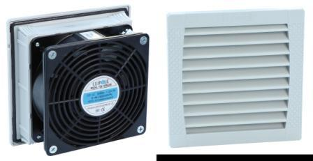FKL5522 Electrical Cabinet Exhaust Fan Hindi tinatagusan ng tubig Air Filter Fan