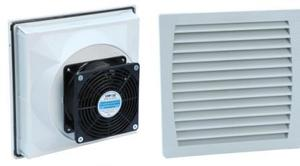 FKL5523 New Design Of ABS Cooling Cabinet Fan Filter For Enclosure
