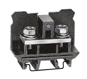 Leipole DIN Rail Mounting Black Screw Wire wago din terminal blocks