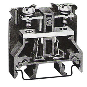 Leipole DIN Rail Mounting Black Screw Wire wago Non-flammable Terminal Block