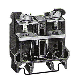 Leipole DIN Rail Mounting Black Screw Wire Low current  Terminal Block