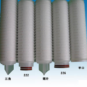China microporous pleated filter supplier