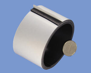 1mm X 50mm High Quality Flexible Magnets With Economic Adhesive
