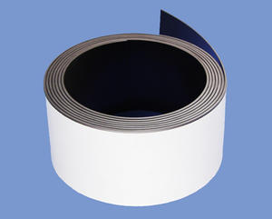 1.5mmX50mm High Quality Flexible Magnets With Economic Adhesive