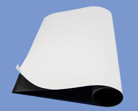 0.5mmX300mm Strong Magnetic sheet rolls With Economic Adhesive