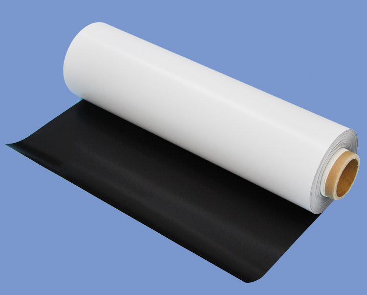 0.5mmX620mm Strong Flexible Magnetic sheet roll With Economic Adhesive