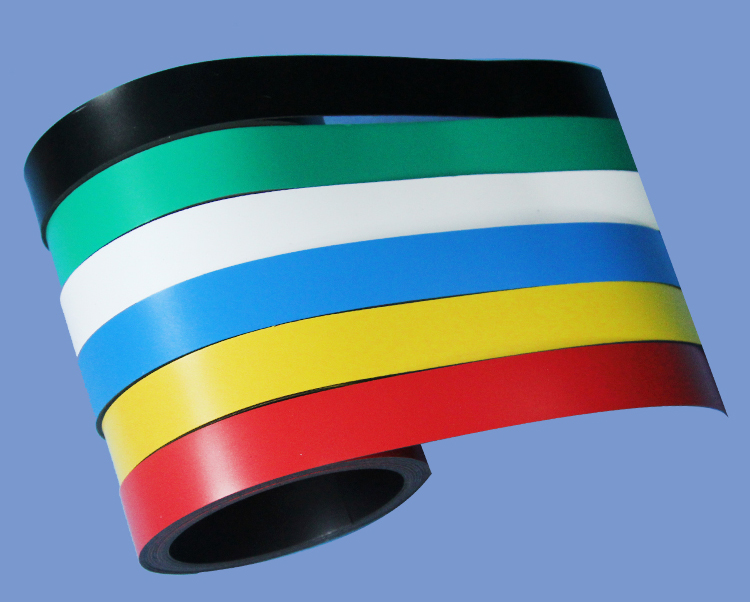 2mm X 10mm Flexible Magnetic Sheet Roll With Printable PVC